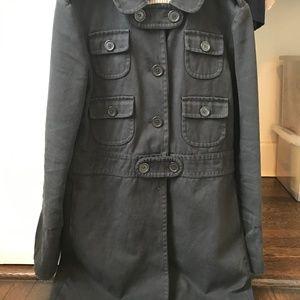 Marc Jacobs Military Pea Coat Wms. M